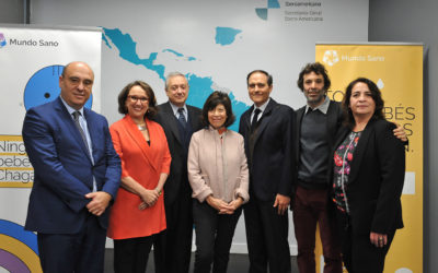 Introducing the Not A Single Baby With Chagas Disease project in Spain