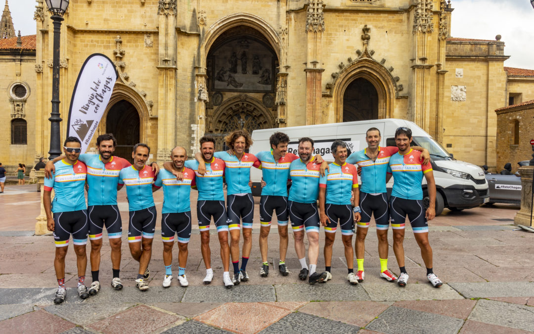 #ChagasChallenge attained: 796.7 km from Madrid to Oviedo to give visibility to Chagas disease